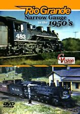 Rio Grande Narrow Gauge in the 1950s DVD NEW CVision Durango & Silverton