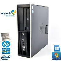Fast HP 8200 Intel Core i5-2400 3.10GHz Cheap PC SFF Desktop WiFi Win10 SSD 16GB