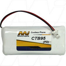 CTB95 2.4V NiMH Cordless Phone Battery