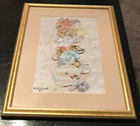 "Dorothy Gallant Artist Art Print Signed 4/50 Numbered • ""Sea Shells"" 15""w X 20""h"