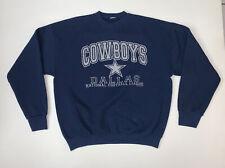 Vintage 90s Dallas Cowboys Sweatshirt Size Adult Large NFL Football