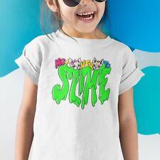 Tshirt Maglia T-shirt Me Bambina Contro Te Bambino Slime Kira Ray Lui e Sofi