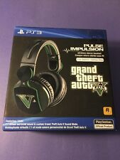 Sony Pulse Impulsion Wireless Headset *Grand Theft Auto V Elite Edition* NEW