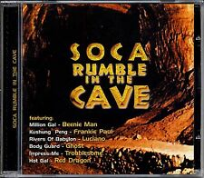 Music CD Reggae Soca Rumble In The Cave Sealed