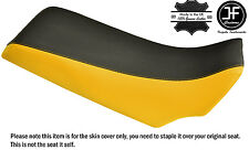 YELLOW & BLACK VINYL CUSTOM FITS YAMAHA YFZ 350 BANSHEE 87-06 SEAT COVER