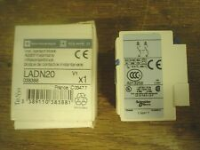 Telemecanique Ladn20 Auxilary Contact Block 60 day warranty
