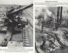 WWII German Large (9.25x7.25) Press Photo Image- Elite- 88mm ATG Gun- Karalien
