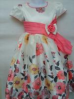Amazing Cream Wedding Christening Flower Girls Prom Bridesmaid Party Dress(1109)