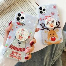 Linda Funda Para Teléfono De Navidad De Mármol iPhone 11 XR Xs Max 8 7 Plus SE 2020