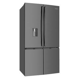 Westinghouse WQE6060BB 600L Dark Stainless Steel 4 Door French Door