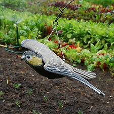 Realistic Flying Owl Decoy Head Crops Weed Pest Control Crow Scarecrow Plastic