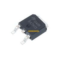 10pcs New production AOD409 SMD SOT252 MOSFET P-channel 26A / 60V FET D409