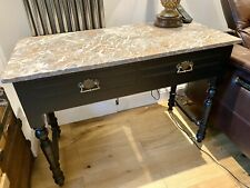 More details for antique marble top wash stand