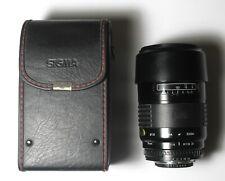Sigma AF 75-200 mm f 1:3.8 Aspherical Zoom Lens w/ Case