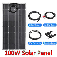 100W Solar Panel Connector USB Charged Device 20% 2-in-1 Adapter For