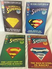 1993 Superman Action Comics Lot of 4