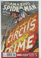 The Amazing Spider-Man #19.1 Spiral Part 4 Marvel comic 2014 1st Print NM