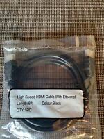 High-speed HDMI Cable 6 Feet Long Brand New  For All Your High Definition Needs