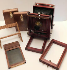 Wet Plate Collodion 4x5 Gundlach Korona Large Format Camera Wood and Brass Kit