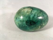 "Green Egg Decorative Stone Home Decor 2.5"" Faux Marble Egg"