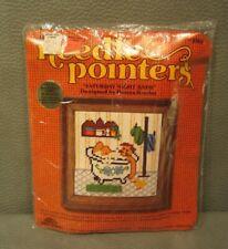 "Vintage Needle Pointers Needle Point Kit ""Saturday Night Bath""  #5767"