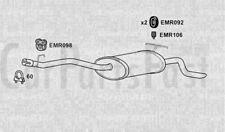 Exhaust Rear Box Mercedes Benz E230 2.3 Petrol Saloon 10/1995 to 09/1997