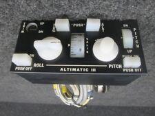 III Piper PA32-260 Altmatic Autopilot Controller (V: 14)