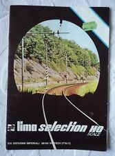 LIMA RAILWAY TRAIN SELECTION CATALOGUE HO (INTERCITY PULLMAN AUSTRALIAN FORD)