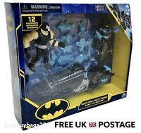 DC Batman 4 Inch Bane Vs Batman Figure Moto-Tank Vehicle NEW 12 Accessories BNIB