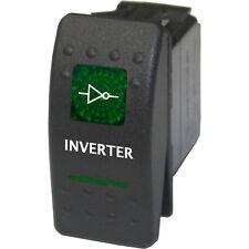 Rocker switch 568G 12V 20A INVERTER on off green univeral mini truck 4x4