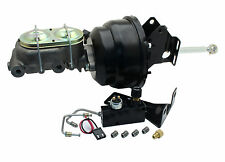 "1957-77 Ford F-100, F-150 Truck 8"" Dual Black Booster Conversion Kit & Valve"