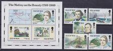 Isle of Man Mi Nr. 397 - 401, Block 11 **, Geschichte History, postfrisch, MNH