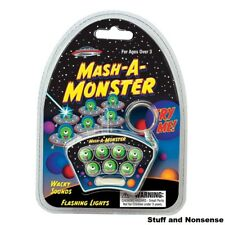 Mash A Monster Game Electronic Key ring Light Up Whack Bash an Alien Present Toy
