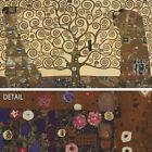 "50W""x28H"" TREE OF LIFE by GUSTAV KLIMT - WOMAN MAN LOVE ROMANTIC STYLIZED CANVAS"
