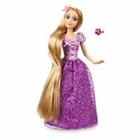 Disney Authentic Tangled Princess Rapunzel Figure w/ Ring Classic Poseable Doll