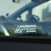 Heiß Fenster Décor  Auto Aufkleber Warnung On Board Kameraaufnahme Auto Vinyl