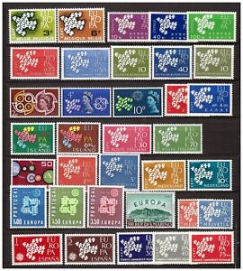 s15624 EUROPA CEPT 1961 MNH**  Complete