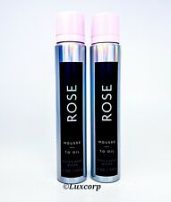 Bath & Body Works ROSE The Fragrance Experience Mousse to Oil NEW Ships Free!