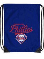 Philadelphia MLB Phillies Logo Cinch Bag Drawstring Backpack Bag Baseball
