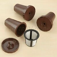 Refillable Coffee Filter Holders for Keurig Reusable My K-Cup Brown i Cafilas