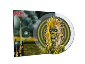 Iron Maiden - Iron Maiden - Crystal Clear Pic Disc Vinyl LP - National Album Day