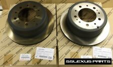 Lexus LX470 (1998-2007) OEM Genuine REAR BRAKE ROTOR SET 42431-60281 (x2)