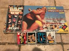 WWF WrestleMania Game Hulk Hogan Mint Un-opened Pro Wrestling Stars rack pack