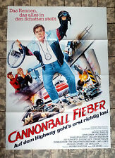 Cannonball Fever/Speed Zone * a1 Film Poster-German 1-Sheet'89 Candy, Boyle