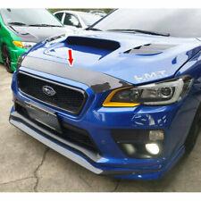 Carbon Fiber For Subaru WRX 4th Sedan STI Front Hood Bonnet Spoiler 2015-2019