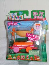 NEW MINI LALALOOPSY SILLY PET PARADE SLEEPY PETS WAGON SWINGS