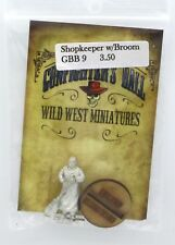 Knuckleduster GBB9 Shopkeeper with Broom (Gunfighter's Ball) Old West Civilian