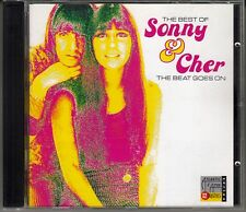 "CD  ALBUM  SONNY AND CHER (BEST OF)  ""THE BEAT GOES ON"""