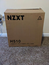 NZXT H510 Compact ATX Mid-Tower PC Gaming Case - Black