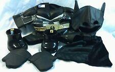 Build A Bear Workshop BABW Batman Outfit Dark Knight Mask Suit Shoes Cape Gloves
